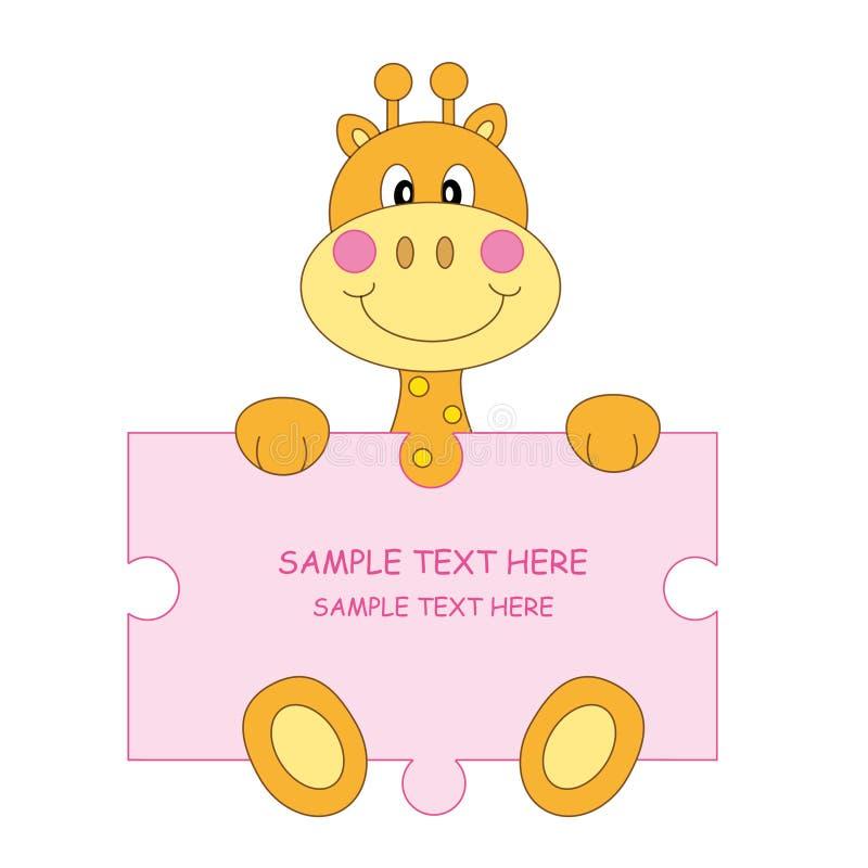 Download Giraffe - tab stock vector. Illustration of mammal, celebration - 17210970