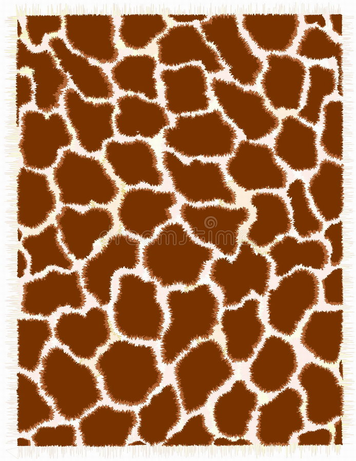 Giraffehaut lizenzfreie abbildung
