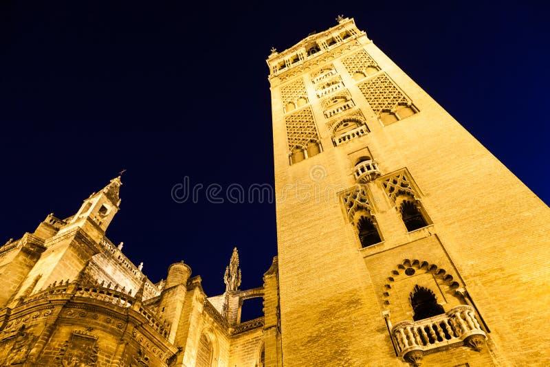 Giralda de Sevilha - Espanha imagem de stock royalty free