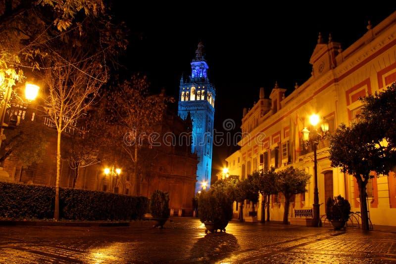 Giralda, Sevilla imagen de archivo
