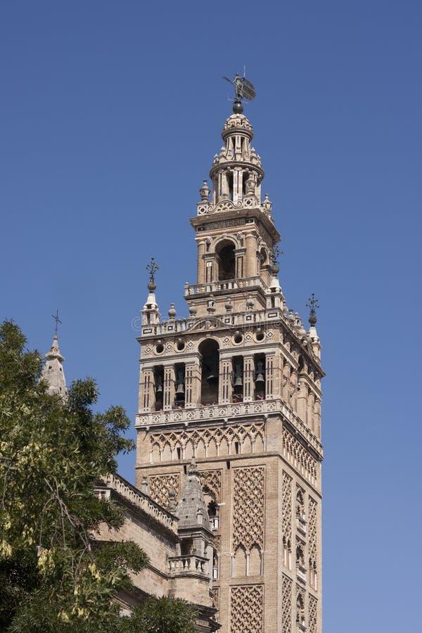 Giralda, Sevilla fotografía de archivo
