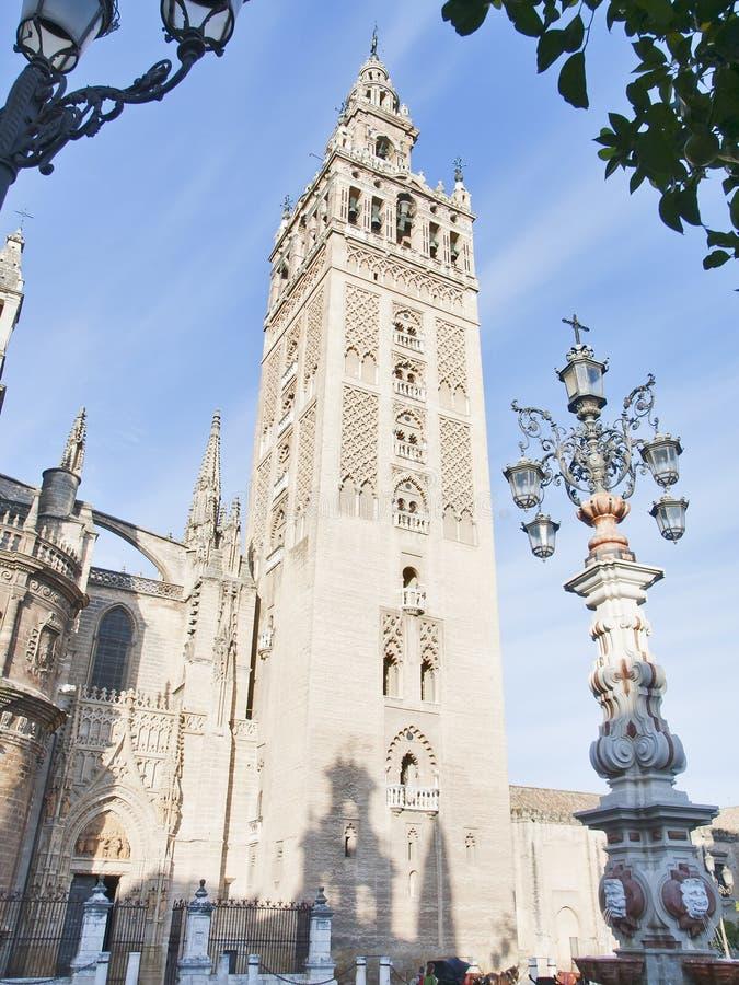 giralda Seville obraz stock