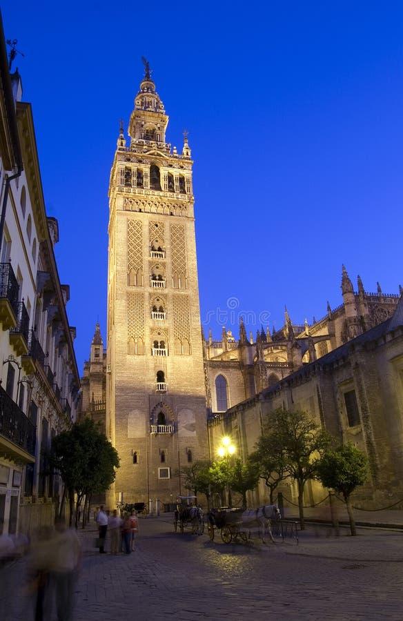 Giralda In Seville stock image