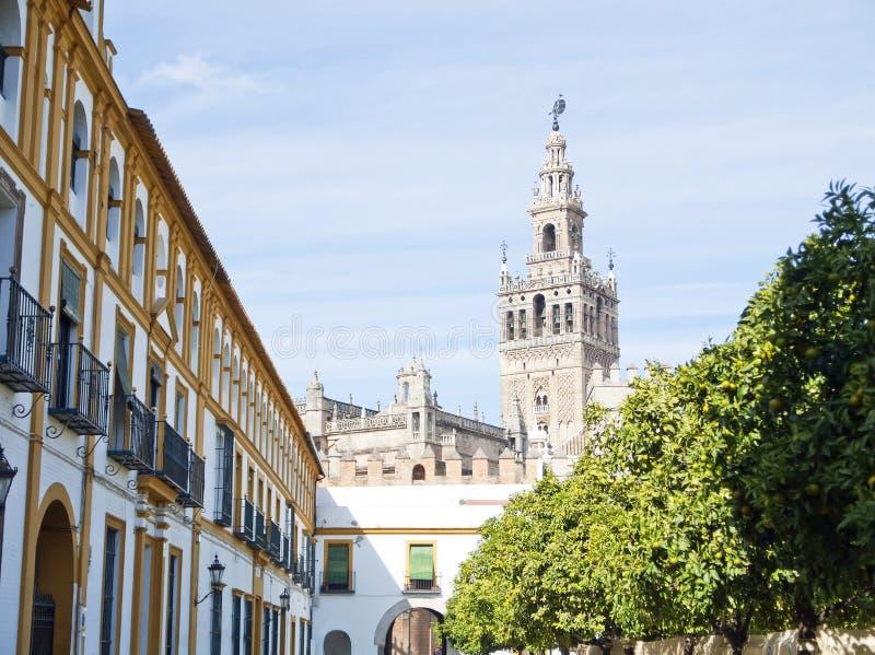 Giralda in Siviglia fotografia stock libera da diritti