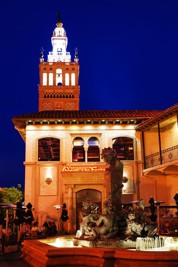 Giralda Tower, Kansas City. Country Club Plaza in Kansas City was designed to resemble a Spanish city in Andalusia. The Tower was built to invoke the Giralda royalty free stock photos