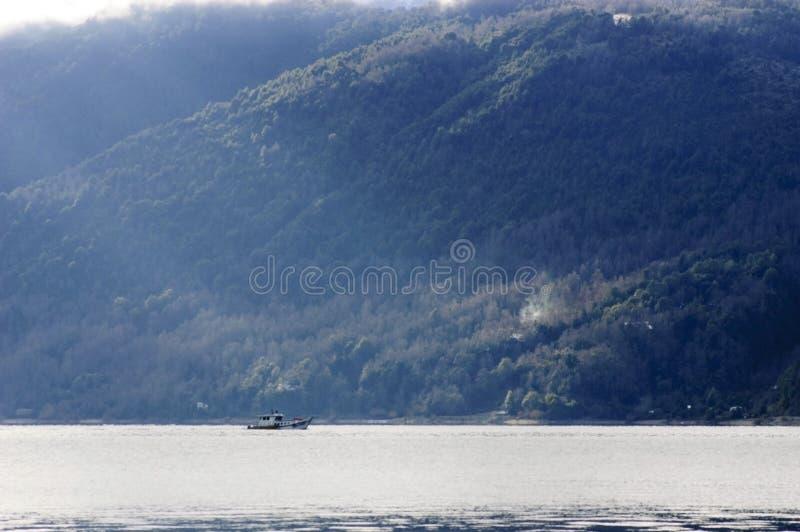 Girando dal lago fotografie stock libere da diritti