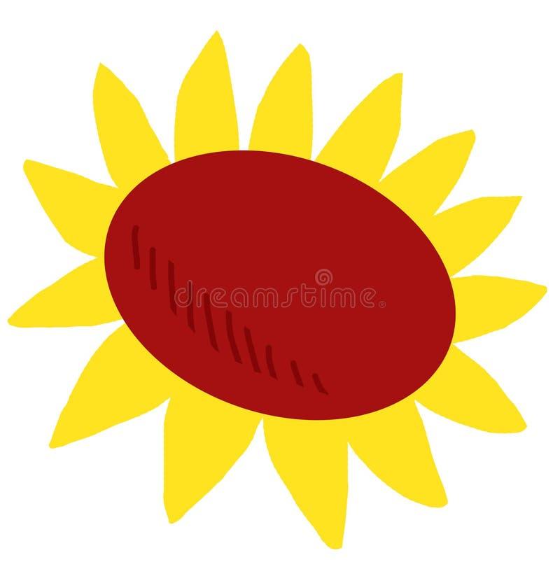 Download Girassol ilustração stock. Ilustração de símbolo, projeto - 10068356