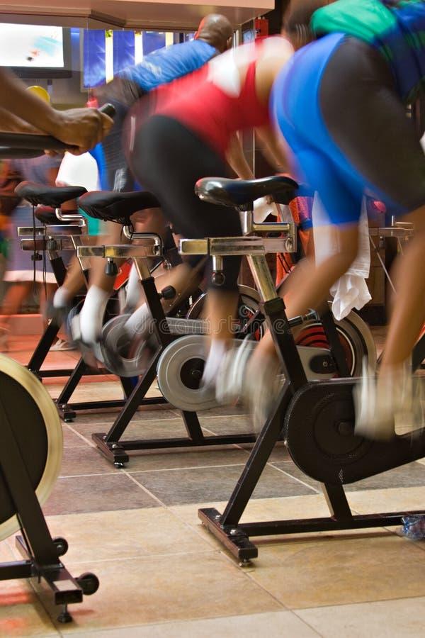 Gire a bicicleta imagem de stock