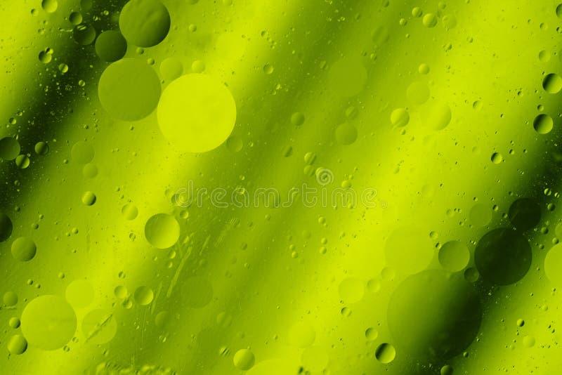 Giri astratti del fondo di progettazione di Hortizontal di toni di verde di calce immagini stock