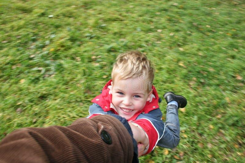 Giri il figlio fotografie stock libere da diritti