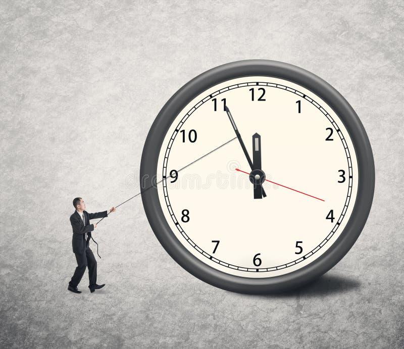 Giri indietro il tempo immagine stock libera da diritti