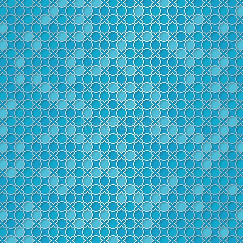 Girih-Muster Schöne arabische Designschablone mit arabischem Muster vektor abbildung
