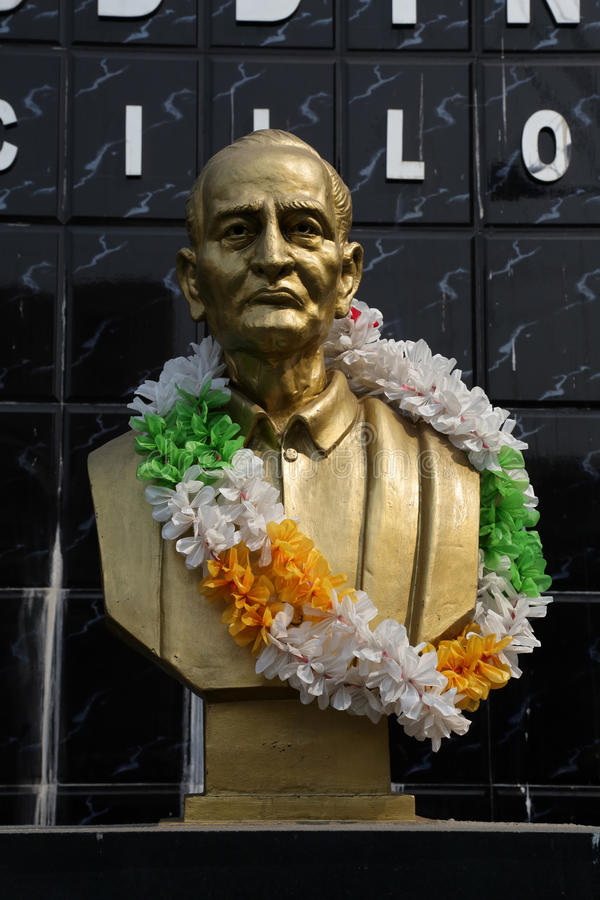 Girish Chandra Bose стоковое изображение rf