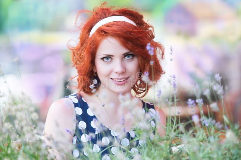 Girlâs Portrait lizenzfreie stockbilder