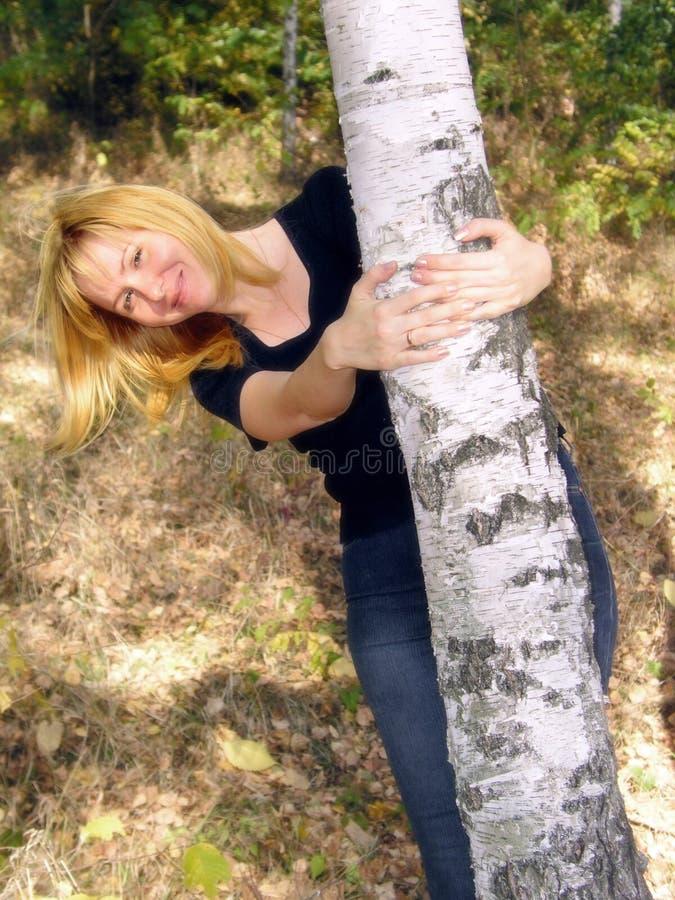 Download Girl 1 stock photo. Image of coquet, flirt, yellow, happy - 439570
