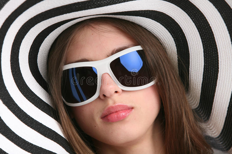 Download Girl stock image. Image of accessory, beach, attractive - 10274833