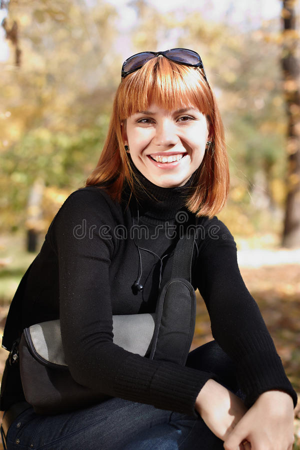 The girl royalty free stock image