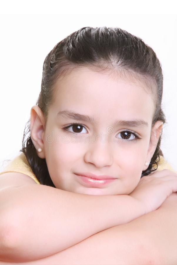 Download Girl stock photo. Image of portrait, beautiful, happiness - 14354058