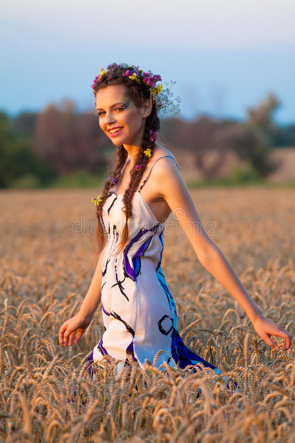 Download Girl stock image. Image of countryside, lifestyle, female - 19309223