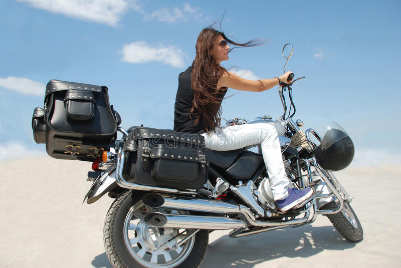 Download Girl stock image. Image of rider, outside, caucasian - 20857787