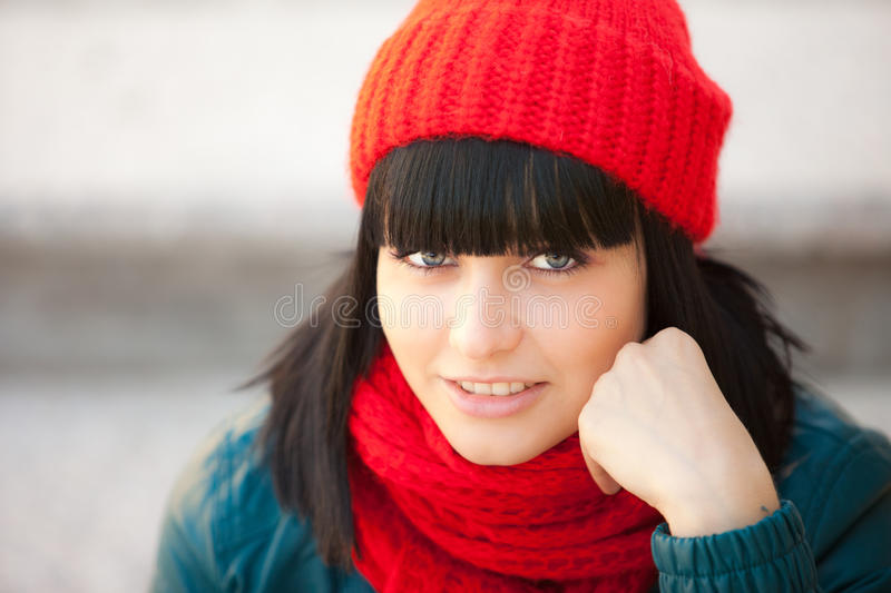 Download Girl stock photo. Image of eyes, woman, autumn, smiling - 21505904