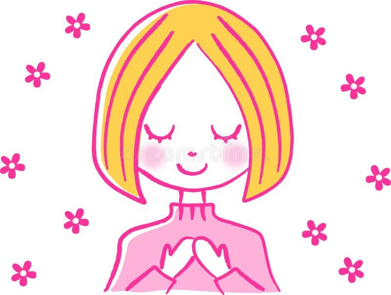 Download Girl stock illustration. Image of lifestyle, illustration - 21696500