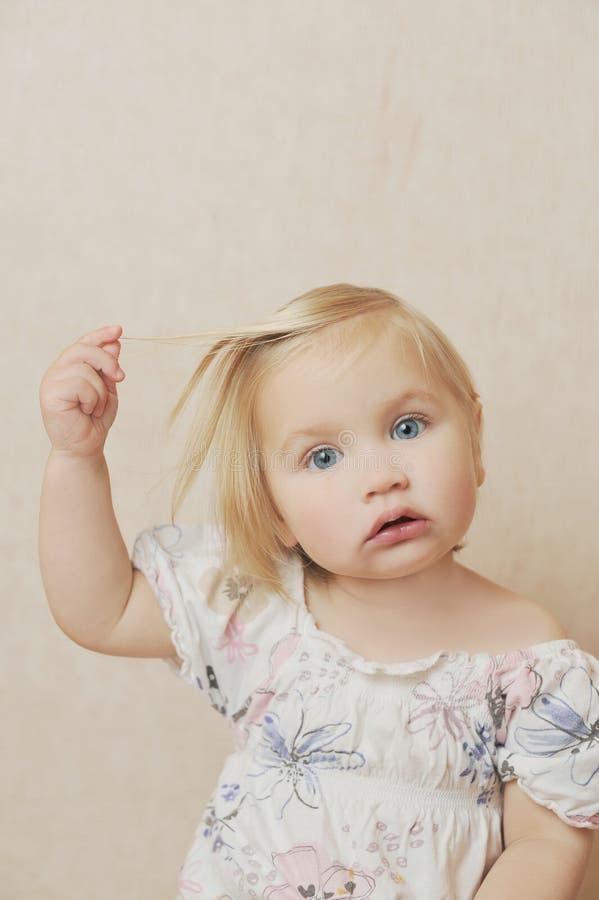 Download Girl stock photo. Image of hair, flower, face, girl, blue - 28545120
