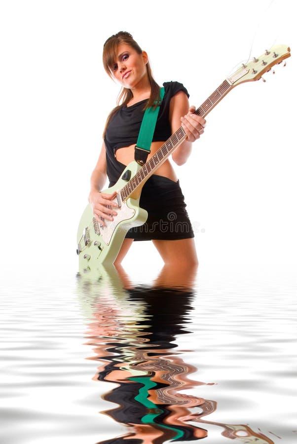 Download Girl stock image. Image of beauty, hair, human, make, guitar - 3816955