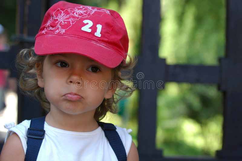 Download Girl stock photo. Image of uneasy, displeased, expressive - 3974420