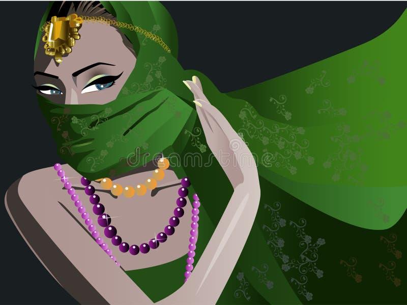 Girl royalty free illustration