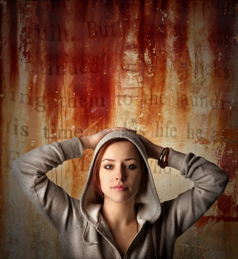 Download Girl stock photo. Image of head, painted, vernish, loose - 8228476