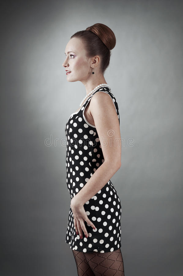 Download Girl In American 60s Style Stock Photos - Image: 20612553