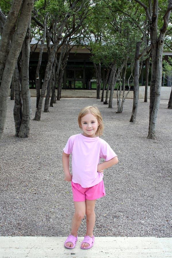 Free Girl Among Trees Royalty Free Stock Photo - 6076565
