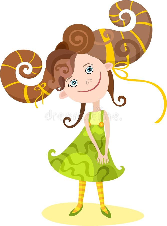 Download Girl-aries Royalty Free Stock Photo - Image: 13795625