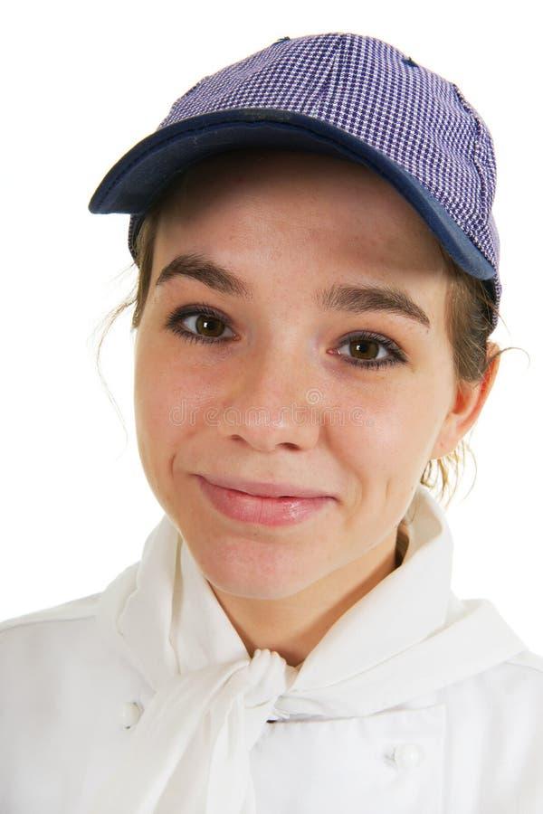 Girl As Cook Royalty Free Stock Photos
