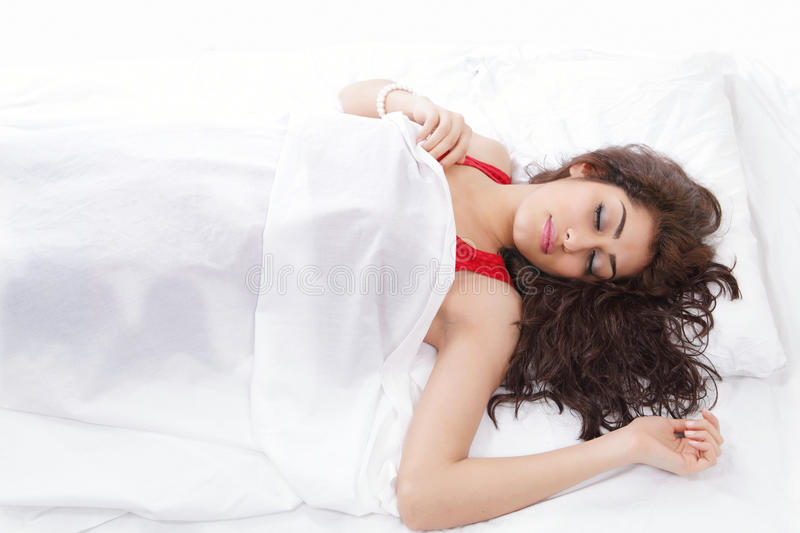 Download Girl asleep stock photo. Image of closed, lady, calm - 23997452