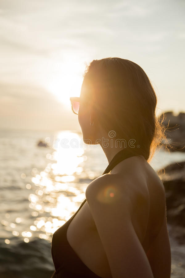 Free Girl At The Sea Stock Photography - 43722172