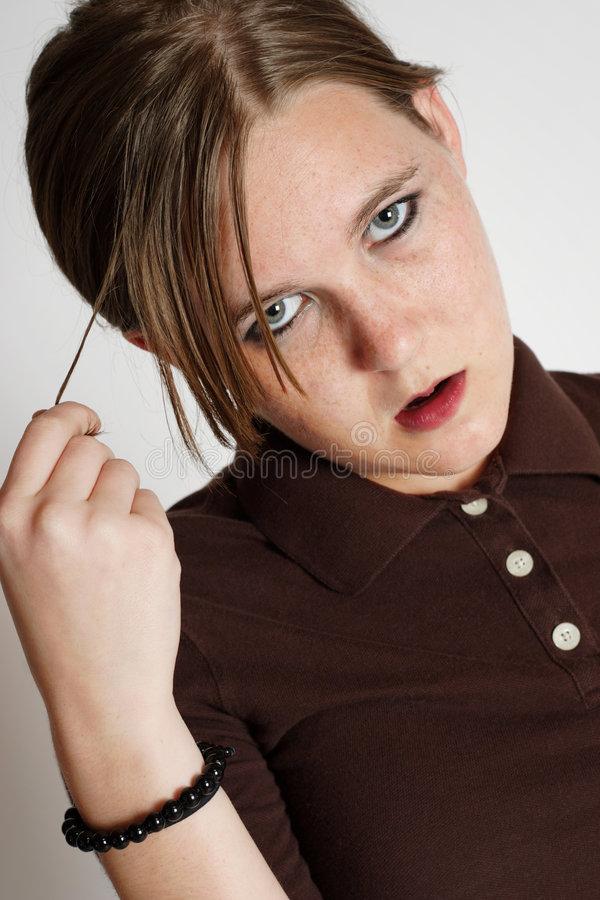 Download Girl With Attitude Royalty Free Stock Photography - Image: 4460587
