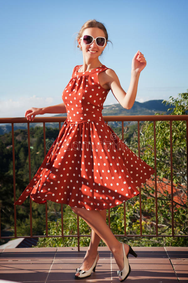 Download Girl on the balcony stock photo. Image of healthy, life - 22751798