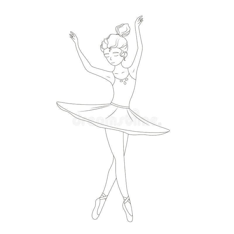 Ballerina Outline Stock Illustrations 1 510 Ballerina Outline Stock Illustrations Vectors Clipart Dreamstime