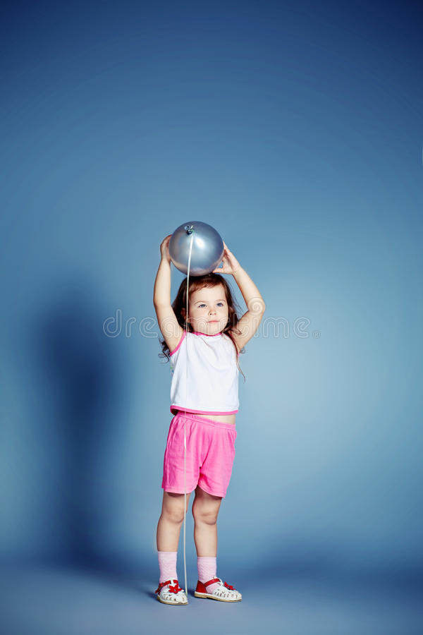 Download Girl And Balloon Royalty Free Stock Images - Image: 28344599