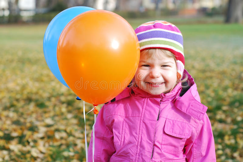 Download Girl With Balloons Stock Images - Image: 22782814