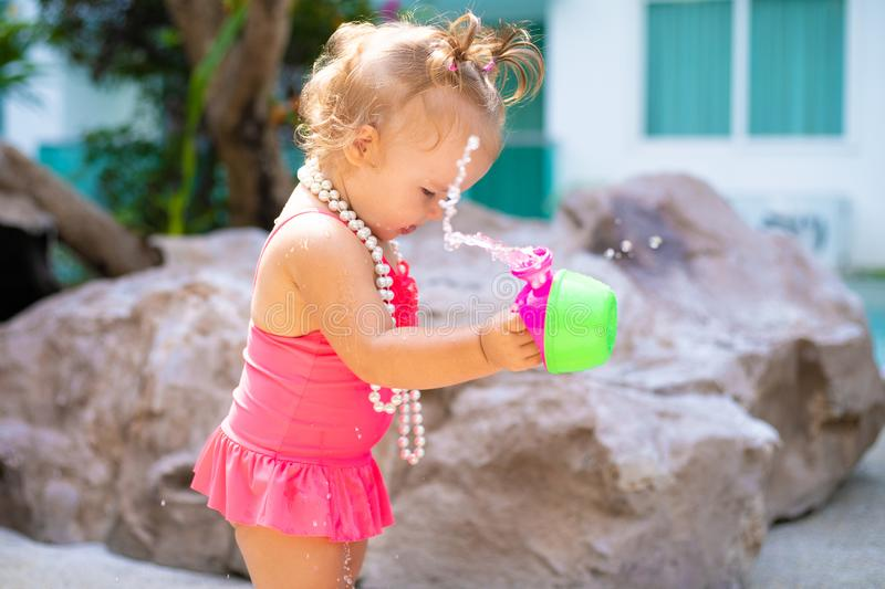 Little Girl Bathing Suit Stock Photos - Download 1,389 -7738