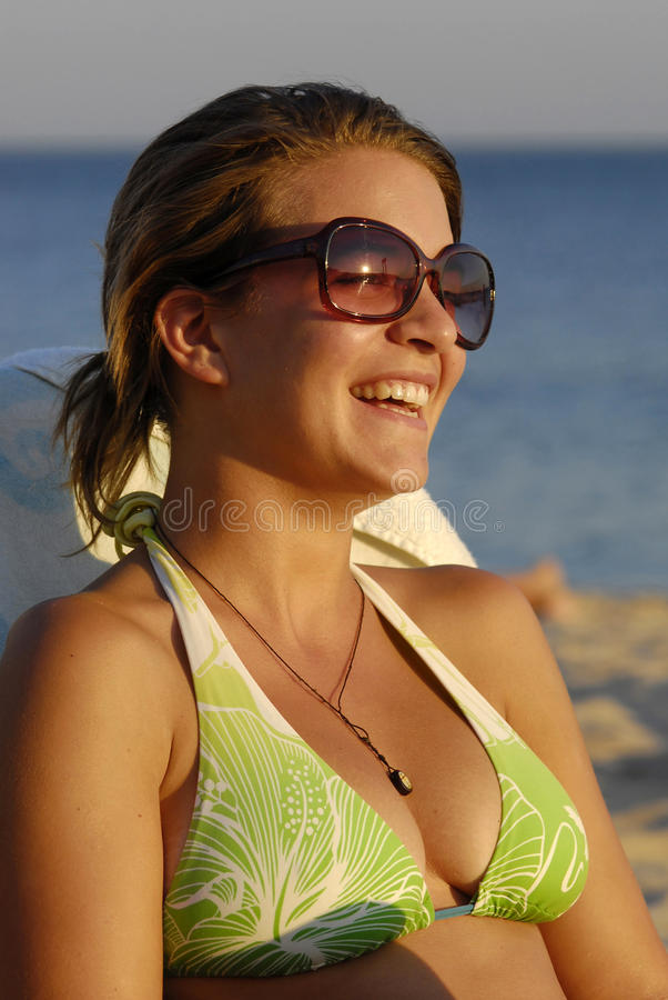Download Girl On The Beach Stock Photo - Image: 11522800