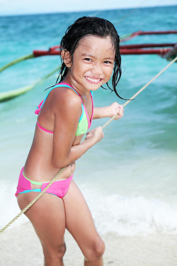 Download Girl At The Beach Royalty Free Stock Photography - Image: 25250647