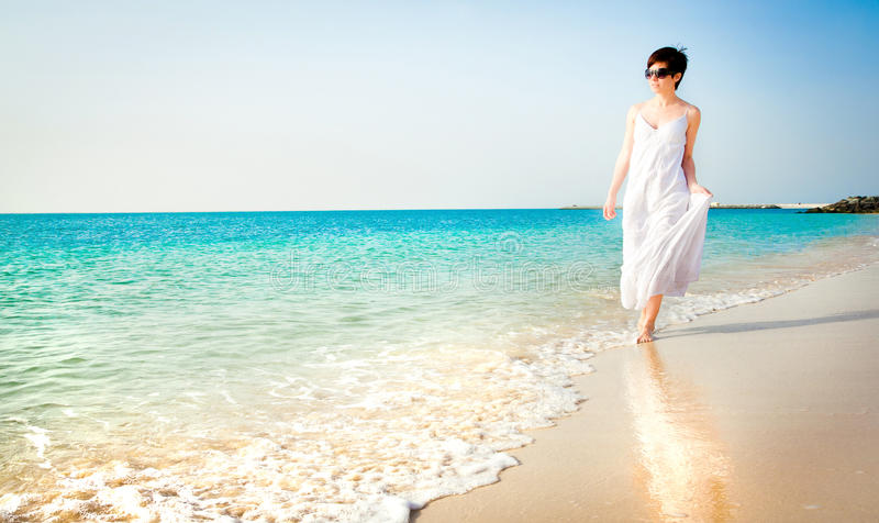 Download Girl on a beach stock image. Image of human, outdoors - 26431645