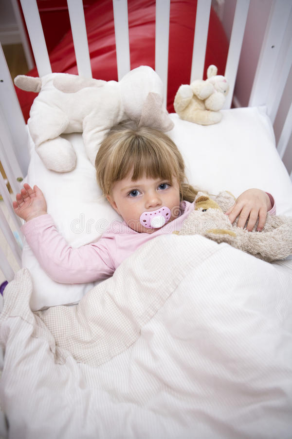 Download Girl In Bed Royalty Free Stock Image - Image: 27178836