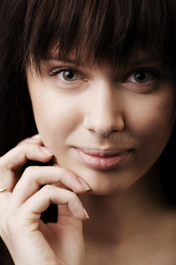 Download Girl With Big Lips Portrait Stock Image - Image: 31109013