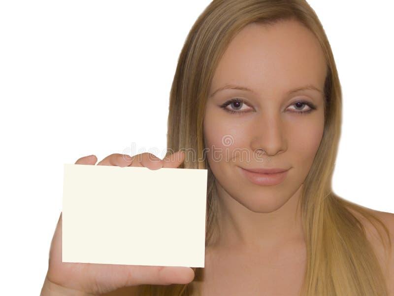 Download Girl with blank stock image. Image of fashionable, girl - 11934713