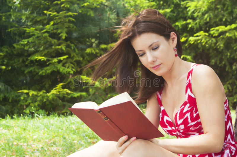 Download Girl with book stock image. Image of college, beauty - 26345367